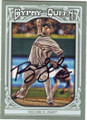RYAN VOGELSONG SAN FRANCISCO GIANTS AUTOGRAPHED BASEBALL CARD #112114A