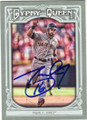 ANGEL PAGAN SAN FRANCISCO GIANTS AUTOGRAPHED BASEBALL CARD #112114E