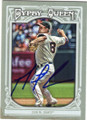 MATT CAIN SAN FRANCISCO GIANTS AUTOGRAPHED BASEBALL CARD #112214D