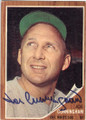 JOE CUNNINGHAM CHICAGO WHITE SOX AUTOGRAPHED VINTAGE BASEBALL CARD #112414K