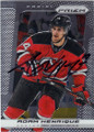 ADAM HENRIQUE NEW JERSEY DEVILS AUTOGRAPHED HOCKEY CARD #113014L