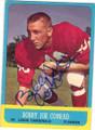 BOBBY JOE CONRAD ST LOUIS CARDINALS AUTOGRAPHED VINTAGE FOOTBALL CARD #113014P