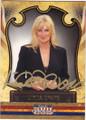 LINDA EVANS AUTOGRAPHED CARD #120114D
