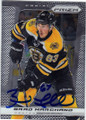 BRAD MARCHAND BOSTON BRUINS AUTOGRAPHED HOCKEY CARD #120114G