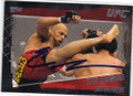 ELIOT MARSHALL MIXED MARTIAL ARTIST AUTOGRAPHED CARD #120614D