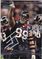 JJ WATT HOUSTON TEXANS DEFENSIVE END AUTOGRAPHED FOOTBALL CARD #120714K
