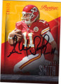 ALEX SMITH KANSAS CITY CHIEFS AUTOGRAPHED FOOTBALL CARD #120914F