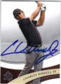 CHARLES HOWELL III AUTOGRAPHED GOLF CARD #121414D