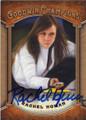 RACHEL HOMAN CANADIEN CURLER AUTOGRAPHED CARD #121414H