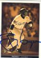 TONY GWYNN SAN DIEGO PADRES AUTOGRAPHED BASEBALL CARD #121514B