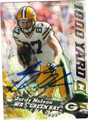 JORDY NELSON GREEN BAY PACKERS AUTOGRAPHED FOOTBALL CARD #122914J