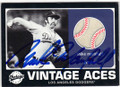 MIKE MARSHALL LOS ANGELES DODGERS AUTOGRAPHED PIECE OF THE GAME BASEBALL CARD #10215H