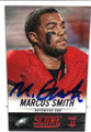 MARCUS SMITH PHILADELPHIA EAGLES AUTOGRAPHED ROOKIE FOOTBALL CARD #10315H