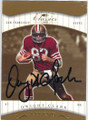 DWIGHT CLARK SAN FRANCISCO 49ers AUTOGRAPHED & NUMBERED FOOTBALL CARD #10815B