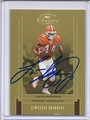 LEE SUGGS CLEVELAND BROWNS AUTOGRAPHED & NUMBERED FOOTBALL CARD #10815E