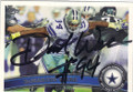 DeMARCUS WARE DALLAS COWBOYS AUTOGRAPHED FOOTBALL CARD #11115F