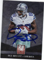 DEZ BRYANT DALLAS COWBOYS AUTOGRAPHED FOOTBALL CARD #11215N