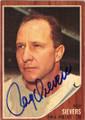 ROY SIEVERS PHILADELPHIA PHILLIES AUTOGRAPHED VINTAGE BASEBALL CARD #11315D