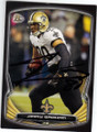 JIMMY GRAHAM NEW ORLEANS SAINTS AUTOGRAPHED FOOTBALL CARD #11415D
