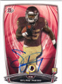 SILAS REDD WASHINGTON REDSKINS AUTOGRAPHED ROOKIE FOOTBALL CARD #11415F