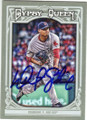 FELIX DOUBRONT BOSTON RED SOX AUTOGRAPHED BASEBALL CARD #11915N