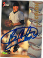 BARTOLO COLON CLEVELAND INDIANS AUTOGRAPHED ROOKIE BASEBALL CARD #12015A