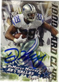 DeMARCO MURRAY DALLAS COWBOYS AUTOGRAPHED FOOTBALL CARD #12115D