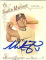 MIKE ZUNINO SEATTLE MARINERS AUTOGRAPHED BASEBALL CARD #12215J
