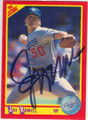 JAY HOWELL LOS ANGELES DODGERS AUTOGRAPHED BASEBALL CARD #12715A