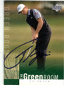TY TRYON AUTOGRAPHED GOLF CARD #12915O