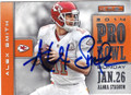 ALEX SMITH KANSAS CITY CHIEFS AUTOGRAPHED FOOTBALL CARD #20215H