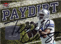 TERRELL OWENS DALLAS COWBOYS AUTOGRAPHED FOOTBALL CARD #20515E