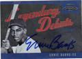 ERNIE BANKS CHICAGO CUBS AUTOGRAPHED BASEBALL CARD #20515J
