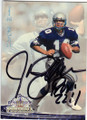 JIM ZORN SEATTLE SEAHAWKS AUTOGRAPHED FOOTBALL CARD #20615F
