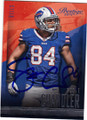 SCOTT CHANDLER BUFFALO BILS AUTOGRAPHED FOOTBALL CARD #20715L
