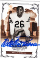 WILLIE BROWN AUTOGRAPHED FOOTBALL CARD #20815E