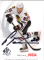 MARIAN HOSSA CHICAGO BLACKHAWKS AUTOGRAPHED HOCKEY CARD #20915L