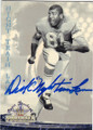 "DICK ""NIGHT TRAIN"" LANE AUTOGRAPHED FOOTBALL CARD #20915Q"
