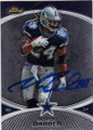 MARION BARBER DALLAS COWBOYS AUTOGRAPHED FOOTBALL CARD #21015C
