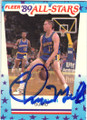 CHRIS MULLIN GOLDEN STATE WARRIORS AUTOGRAPHED BASKETBALL CARD #21315F
