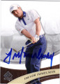 TREVOR IMMELMAN AUTOGRAPHED GOLF CARD #21315G