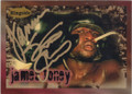 JAMES TONEY AUTOGRAPHED BOXING CARD #22115E