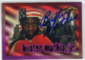 BUSTER MATHIS JR AUTOGRAPHED BOXING CARD #22215F