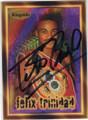 FELIX TRINIDAD AUTOGRAPHED BOXING CARD #22515J