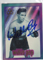 WILLIE PEP AUTOGRAPHED BOXING CARD #22615K