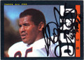 RICHARD DENT CHICAGO BEARS AUTOGRAPHED VINTAGE FOOTBALL CARD #30215C
