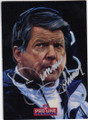 JIMMY JOHNSON DALLAS COWBOYS AUTOGRAPHED FOOTBALL CARD #30215i