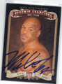 MIKE TYSON AUTOGRAPHED BOXING CARD #3315J