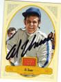 AL UNSER SR AUTOGRAPHED NASCAR CARD #30615F
