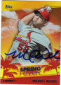 MICHAEL WACHA ST LOUIS CARDINALS AUTOGRAPHED BASEBALL CARD #31015H